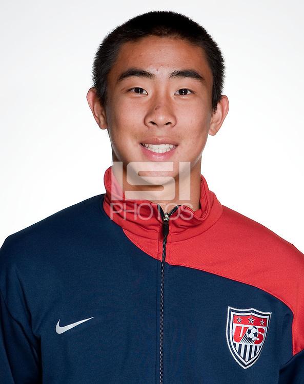 U17 USA National Team Headshots, 2010.