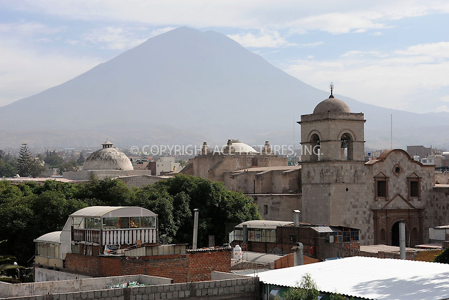 WWW.ACEPIXS.COM . . . . . .January 4, 2013...Arequipa, Peru.... Arequipa on January 4, 2013 in Peru ....Please byline: KRISTIN CALLAHAN - ACEPIXS.COM.. . . . . . ..Ace Pictures, Inc: ..tel: (212) 243 8787 or 212 489 0521..e-mail: kristincallahan@aol.com...web: http://www.acepixs.com .