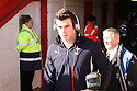 Gareth Bale of Spurs arrives at the ground. Stevenage v Tottenham Hotspur - FA Cup 5th Round - Lamex Stadium, Stevenage - 19th February 2012 . © Kevin Coleman 2012