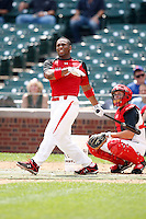 August 8, 2009:  Outfielder Reggie Golden (21) of Team One during the Under Armour All-America event at Wrigley Field in Chicago, IL.  Photo By Mike Janes/Four Seam Images