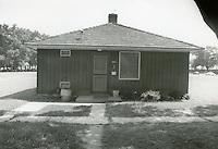 1990 July ..Assisted Housing..Oakleaf Forest..Oakleaf Forest B&W Study:.Head on shots of typical 1&2 story cottages all sides.07/90 HOUSING:Oaklf fr:1 :4 :R1...NEG#.NRHA#..