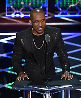 """BEVERLY HILLS - SEPTEMBER 7: Chris Redd appears onstage at the """"Comedy Central Roast of Alec Baldwin"""" at the Saban Theatre on September 7, 2019 in Beverly Hills, California. (Photo by Frank Micelotta/PictureGroup)"""