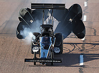 Feb 22, 2020; Chandler, AZ, USA; NHRA top fuel driver Doug Foley during qualifying for the Arizona Nationals at Wild Horse Pass Motorsports Park. Mandatory Credit: Mark J. Rebilas-USA TODAY Sports