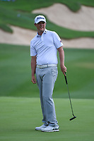 Matt Jones (AUS) reacts to barely missing his putt on 18 during day 3 of the Valero Texas Open, at the TPC San Antonio Oaks Course, San Antonio, Texas, USA. 4/6/2019.<br /> Picture: Golffile | Ken Murray<br /> <br /> <br /> All photo usage must carry mandatory copyright credit (© Golffile | Ken Murray)