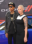 Amber Rose and Wiz Khalifa at The Universal Pictures American Premiere of Fast & Furious 6 held at Universal CityWalk in Universal City, California on May 21,2013                                                                   Copyright 2013 Hollywood Press Agency