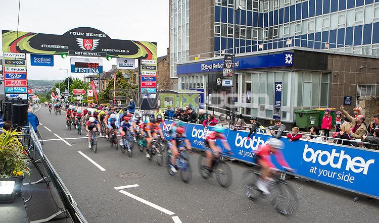Picture by Alex Whitehead/SWpix.com - 23/05/2017 - Cycling - Tour Series Round 7, Motherwell - Matrix Fitness Grand Prix -