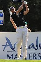 Ross Fisher (ENG) during the final day of the  Andalucía Masters at Club de Golf Valderrama, Sotogrande, Spain. .Picture Fran Caffrey www.golffile.ie