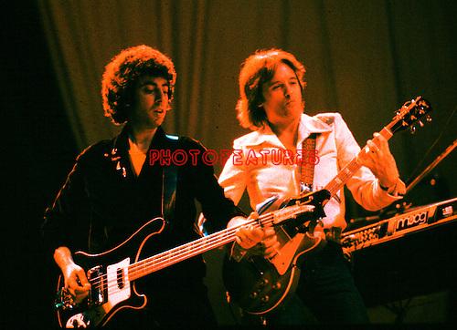 10cc  1977 Graham Gouldman and Eric Stewart..© Chris Walter..
