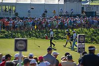 Rory McIlroy (NIR) approaches his ball on the green on 11 during 1st round of the 100th PGA Championship at Bellerive Country Cllub, St. Louis, Missouri. 8/9/2018.<br /> Picture: Golffile | Ken Murray<br /> <br /> All photo usage must carry mandatory copyright credit (© Golffile | Ken Murray)