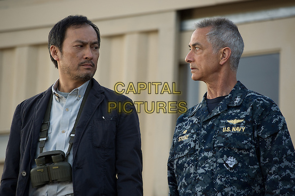 Ken Watanabe, David Strathairn<br /> in Godzilla (2014) <br /> *Filmstill - Editorial Use Only*<br /> CAP/NFS<br /> Image supplied by Capital Pictures