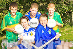 FIXTURE: The five from Ardfert National School who were chosen on last Sunday to play in Croke Park. Front l-r : Aine O'Connor and Aoife Fitzgerald. Back l-r: Eoghan Courtney, Michael O'Leary and Gearoid Sheehan..   Copyright Kerry's Eye 2008