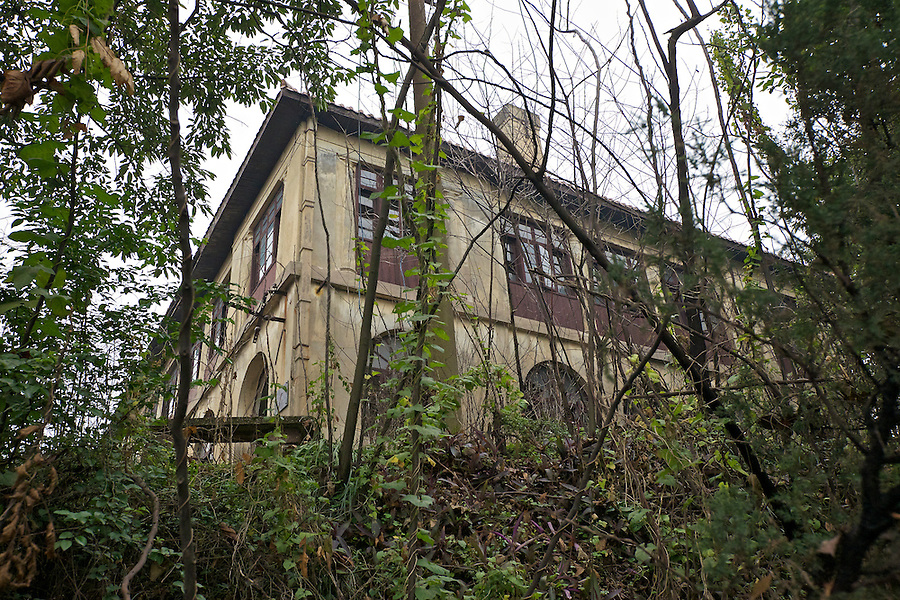 Former Residence In Chongqing (Chungking).  Taken From The Footpath Leading Up To The House.