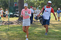 Azahara Munoz (ESP) makes her way to the tee on 2 during round 4 of the 2019 US Women's Open, Charleston Country Club, Charleston, South Carolina,  USA. 6/2/2019.<br /> Picture: Golffile | Ken Murray<br /> <br /> All photo usage must carry mandatory copyright credit (© Golffile | Ken Murray)