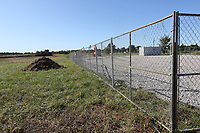 NWA Democrat-Gazette/DAVID GOTTSCHALK Property near Ball and Downum Road are visible Tuesday, October 8, 2019, an area where Shaw Family Park will be built in the northwestern quadrant of Springdale. Voters passed a $19.5 million bond issue in February 2018 to build Shaw park, renovate Randal Tyson park and repair a few others. The bond money also purchased the building that became the city's new recreation center.