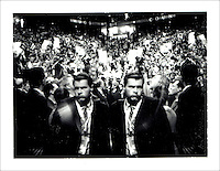 Polaroid Portraiture and Reportage from the 2008 Political Conventions