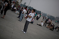 Un soir, place Tiananmen, Mai 2009