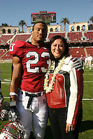 18 November 2006: Brandon Harrison during Stanford's 30-7 loss to Oregon State at Stanford Stadium in Stanford, CA.