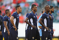 Philadelphia, PA - Tuesday June 14, 2016: Panamanian players prior to a Copa America Centenario Group D match between Chile (CHI) and Panama (PAN) at Lincoln Financial Field.