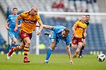 Kari Arnason slips and lets Curtis Main through on goal for Motherwell's third