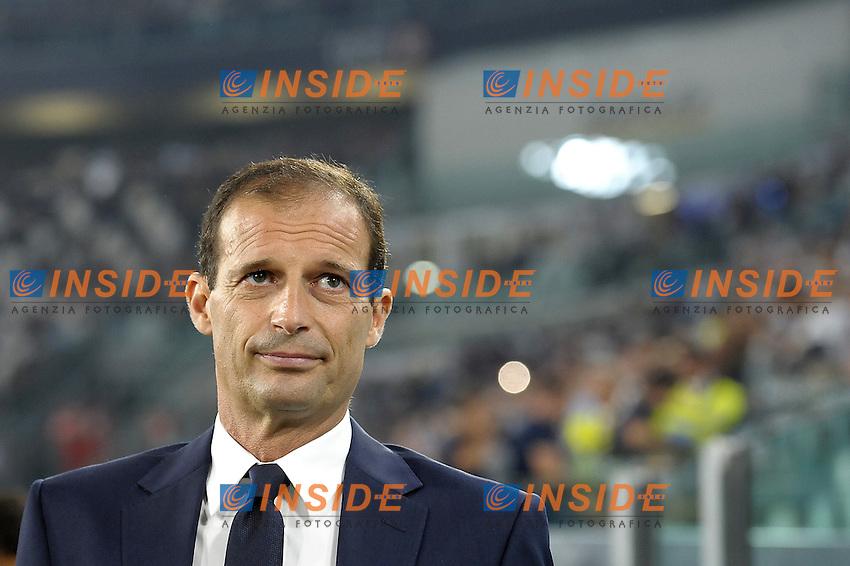 Massimiliano Allegri,<br /> Torino 20-08-2016, Juventus Stadium, Football Calcio 2016/2017 Serie A, Juventus - Fiorentina, Foto Filippo Alfero/Insidefoto