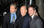 "BEVERLY HILLS, CA. - December 08: Robert Duvall, Jeff Bridges and Scott Cooper arrive at the ""Crazy Heart"" Los Angeles Premiere at the Academy of Motion Picture Arts & Sciences on December 8, 2009 in Los Angeles, California."
