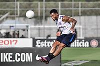 SÃO PAULO, SP, 02.02.2017 - FUTEBOL-CORINTHIANS - Kazim durante treino do Corinthians, realizado no Centro de Treinamento Joaquim Grava, zona leste de São Paulo, na tarde desta quinta-feira. (02) (Foto: Renato Gizzi/Brazil Photo Press)