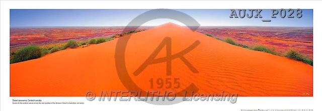 Dr. Xiong, LANDSCAPES, panoramic, photos, Desert Panorama, Australia(AUJXP028,#L#)