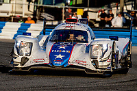 DAYTONA BEACH, FL - JAN 25: The #81 ORECA LMP2 07 of Ben Hanley, of Great Britain, Henrik Hedman, of Sweden, Colin Braun, and  Harrison Newey, of Great Britain, races on the track during the Rolex 24 at Daytona at Daytona International Speedway, Daytona Beach, Florida,  January 25, 2020. (Photo by Brian Cleary/BCPix.com)
