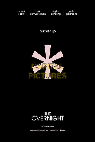 POSTER ART<br /> in The Overnight (2015) <br /> *Filmstill - Editorial Use Only*<br /> CAP/FB<br /> Image supplied by Capital Pictures