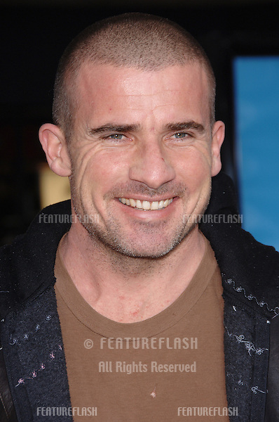 "Prison Break star DOMINIC PURCELL at the world premiere of ""Ice Age: The Meltdown"" at the Grauman's Chinese Theatre, Hollywood..March 19, 2006  Los Angeles, CA..© 2006 Paul Smith / Featureflash"