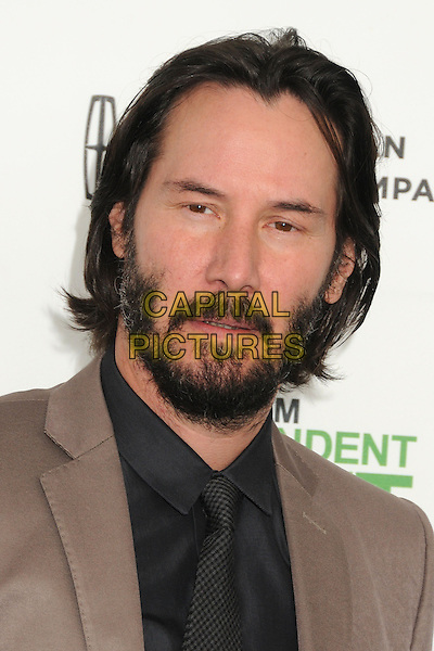 1 March 2014 - Santa Monica, California - Keanu Reeves. 2014 Film Independent Spirit Awards - Arrivals held at Santa Monica Beach. <br /> CAP/ADM/BP<br /> &copy;Byron Purvis/AdMedia/Capital Pictures