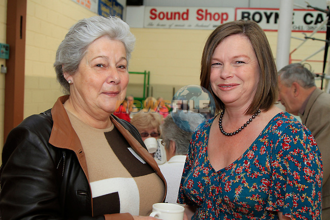 Marie Maloney and Aine McKeown.at the 20th Anniversary of the lifestyle development group..Picture Fran Caffrey www.newsfile.ie