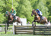 Meet At Eleven, right, matches strides with Patriot' Path in the Radnor Hunt Cup.