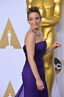 Tina Fey at the 88th Academy Awards at the Dolby Theatre, Hollywood.<br /> February 28, 2016  Los Angeles, CA<br /> Picture: Paul Smith / Featureflash