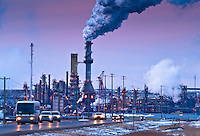 Dubbed by most locals as Hell's Highway or the Highway of Death, Highway 63 leads directly to the heart of the Alberta Tar Sands and through the center of one of Syncrude's operations. During shift changes, choked full of exhausted oil workers driving at breakneck speed to get home further south, and contending with massive transport trucks and machinery, the highway is particularly dangerous. Virtually every week, an automobile accident on the highway kills or maims another worker.
