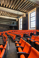 Interior of Choi Auditorium in Johnson Hall, Sept. 2013. (Photo by Marc Campos, Occidental College Photographer)