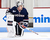 Steve Thulin (UConn - 35) - The Boston University Terriers defeated the visiting University of Connecticut Huskies 4-2 (EN) on Saturday, October 24, 2015, at Agganis Arena in Boston, Massachusetts.