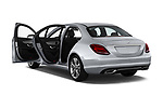 Car images close up view of a 2018 Mercedes Benz C-Class Sedan C350e Plug-in Hybrid 4 Door Sedan doors