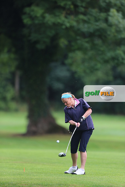 Lorna Mitchell (Strabane) during the Ulster Mixed Foursomes Final, Shandon Park Golf Club, Belfast. 19/08/2016<br /> <br /> Picture Jenny Matthews / Golffile.ie<br /> <br /> All photo usage must carry mandatory copyright credit (&copy; Golffile | Jenny Matthews)