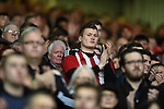 Sheffield Utd fans during the English League One match at Bramall Lane Stadium, Sheffield. Picture date: April 5th 2017. Pic credit should read: Andy Jones/Sportimage