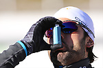 09/12/2016, Pokljuka - IBU Biathlon World Cup.<br /> Simon Fourcade competes at the sprint race in Pokljuka, Slovenia on 09/12/2016. French Martin Fourcade ended first and keeps it's yellow jersey.