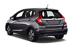 Car pictures of rear three quarter view of a 2018 Honda Fit EX CVT 5 Door Hatchback angular rear