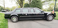 "The Presidential ""Beast"" Limo at the White House by Art Harman"
