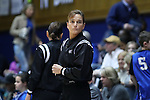 10 February 2017: Referee Dee Kantner. The Duke University Blue Devils hosted the Syracuse University Orange at Cameron Indoor Stadium in Durham, North Carolina in a 2016-17 Division I Women's Basketball game. Duke won the game 72-55.