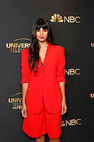 LOS ANGELES - AUG 13:  Jameela Jamil at the NBC And Universal EMMY Nominee Celebration at the Tesse Restaurant on August 13, 2019 in West Hollywood, CA