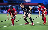 Dylan Thomas. International Hockey, Blacksticks Men v Japan, TET Multisport Centre, Stratford, New Zealand. Thursday 10 October 2019. Photo: Simon Watts/www.bwmedia.co.nz/HockeyNZ