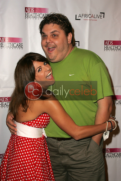 Bridgetta Tomarchio and friend<br />