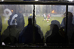 The home dugout watches the first-half action at Raydale Park, as Gretna take on Dalbeattie Star in a Scottish Lowland League fixture which ended 0-0. The match was one of six arranged by the league and GroundhopUK over the weekend to accommodate groundhoppers, fans who attempt to visit as many football venues as possible. Around 100 fans in two coaches from England participated in the 2016 Lowland League Groundhop and they were joined by other individuals from across the UK which helped boost crowds at the six featured matches.
