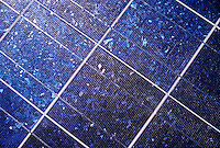 SOLAR PANELS for generating ELECTRICITY.