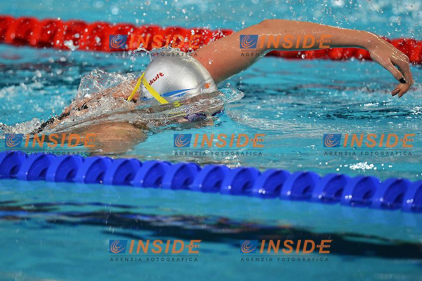 Federica Pellegrini Italia Women's 4x200 freestyle relay .Istanbul 12/12/2012 Sinan Erdem Dome.World Swimming Championships Short course 25m Nuoto Istanbul.Foto Andrea Staccioli Insidefoto
